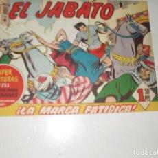 Tebeos: EL JABATO 247.ORIGINAL.EDITORIAL BRUGUERA,AÑO 1958.. Lote 288374473