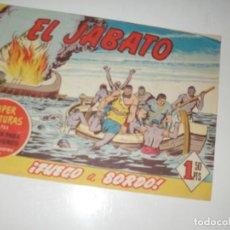 Tebeos: EL JABATO 246.ORIGINAL.EDITORIAL BRUGUERA,AÑO 1958.. Lote 288374598