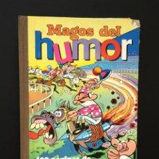 Tebeos: MAGOS DEL HUMOR VOLUMEN XVIII (BRUGUERA, 1974). 400 PÁGINAS DE MORTADELO Y FILEMÓN. POR IBÁÑEZ. Lote 288375948
