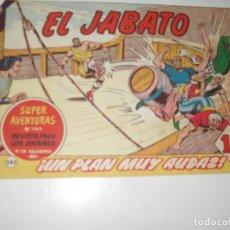 Tebeos: EL JABATO 245.ORIGINAL.EDITORIAL BRUGUERA,AÑO 1958.. Lote 288376028
