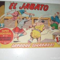 Tebeos: EL JABATO 244.ORIGINAL.EDITORIAL BRUGUERA,AÑO 1958.. Lote 288376128