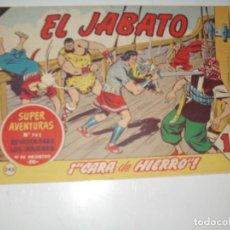 Tebeos: EL JABATO 243.ORIGINAL.EDITORIAL BRUGUERA,AÑO 1958.. Lote 288376238