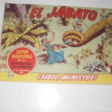 Tebeos: EL JABATO 242.ORIGINAL.EDITORIAL BRUGUERA,AÑO 1958.. Lote 288376343