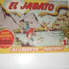 Tebeos: EL JABATO 241.ORIGINAL.EDITORIAL BRUGUERA,AÑO 1958.. Lote 288376453