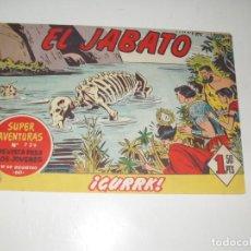 Tebeos: EL JABATO 240.ORIGINAL.EDITORIAL BRUGUERA,AÑO 1958.. Lote 288376573