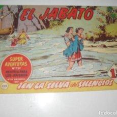Tebeos: EL JABATO 239.ORIGINAL.EDITORIAL BRUGUERA,AÑO 1958.. Lote 288376678