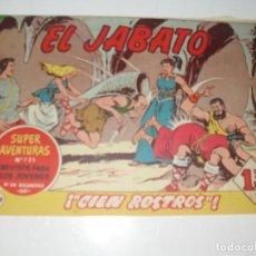 Tebeos: EL JABATO 238.ORIGINAL.EDITORIAL BRUGUERA,AÑO 1958.. Lote 288376743