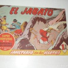 Tebeos: EL JABATO 237.ORIGINAL.EDITORIAL BRUGUERA,AÑO 1958.. Lote 288376853