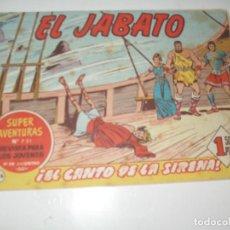 Tebeos: EL JABATO 236.ORIGINAL.EDITORIAL BRUGUERA,AÑO 1958.. Lote 288376953