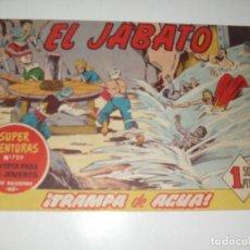 Tebeos: EL JABATO 235.ORIGINAL.EDITORIAL BRUGUERA,AÑO 1958.. Lote 288377048
