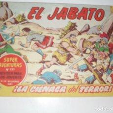 Tebeos: EL JABATO 233.ORIGINAL.EDITORIAL BRUGUERA,AÑO 1958.. Lote 288377358