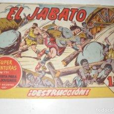 Tebeos: EL JABATO 231.ORIGINAL.EDITORIAL BRUGUERA,AÑO 1958.. Lote 288377983