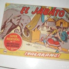 Tebeos: EL JABATO 228.ORIGINAL.EDITORIAL BRUGUERA,AÑO 1958.. Lote 288378563