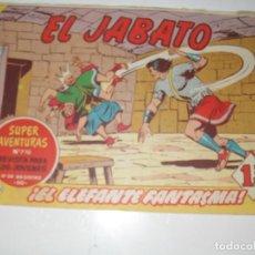 Tebeos: EL JABATO 226.ORIGINAL.EDITORIAL BRUGUERA,AÑO 1958.. Lote 288378833