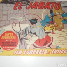 Tebeos: EL JABATO 225.ORIGINAL.EDITORIAL BRUGUERA,AÑO 1958.. Lote 288379013