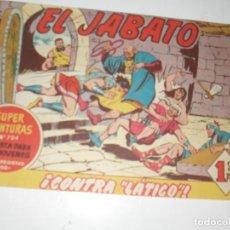 Tebeos: EL JABATO 224.ORIGINAL.EDITORIAL BRUGUERA,AÑO 1958.. Lote 288379133