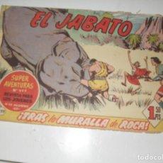 Tebeos: EL JABATO 222.ORIGINAL.EDITORIAL BRUGUERA,AÑO 1958.. Lote 288379493