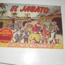 Tebeos: EL JABATO 220.ORIGINAL.EDITORIAL BRUGUERA,AÑO 1958.. Lote 288379988