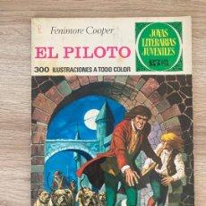 Tebeos: JOYAS LITERARIAS Nº 57. EL PILOTO. 2ª EDICION BRUGUERA 1972. Lote 288386523