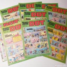 Tebeos: LOTE 9 DDT REVISTA JUVENIL III ÉPOCA. Lote 288389243