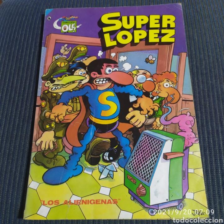 COLECCION OLE SÚPER LOPEZ BRUGUERA LOS ALIENIGENAS (Tebeos y Comics - Bruguera - Ole)