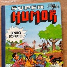 Tebeos: SUPER HUMOR BENITO BONIATO, BRUGUERA, PRIMERA EDICION. Lote 288432493