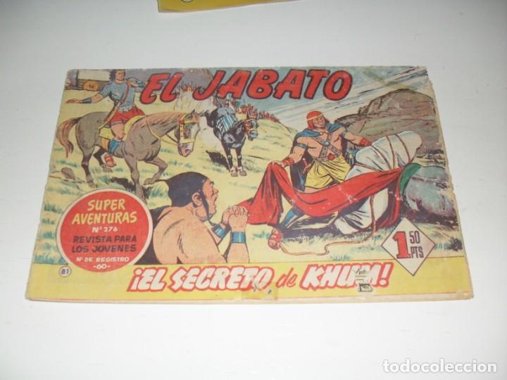 EL JABATO 81.ORIGINAL.EDITORIAL BRUGUERA,AÑO 1958. (Tebeos y Comics - Bruguera - Jabato)