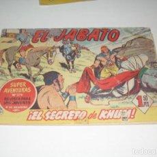 Tebeos: EL JABATO 81.ORIGINAL.EDITORIAL BRUGUERA,AÑO 1958.. Lote 288453203