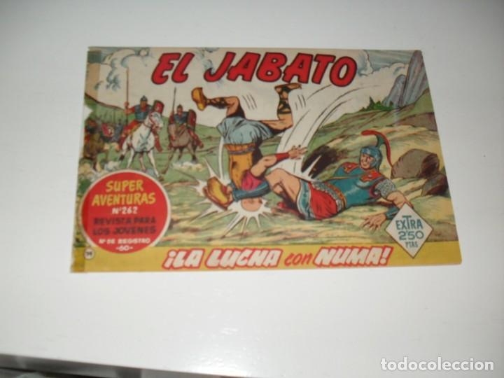 EL JABATO 74.ORIGINAL.EDITORIAL BRUGUERA,AÑO 1958. (Tebeos y Comics - Bruguera - Jabato)