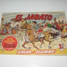 Tebeos: EL JABATO 72.ORIGINAL.EDITORIAL BRUGUERA,AÑO 1958.. Lote 288453473