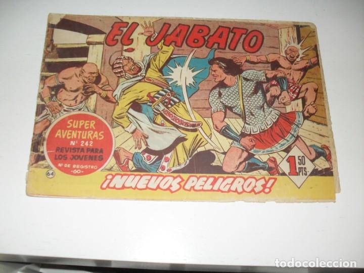 EL JABATO 64.ORIGINAL.EDITORIAL BRUGUERA,AÑO 1958. (Tebeos y Comics - Bruguera - Jabato)