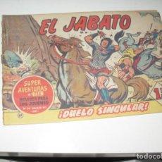 Tebeos: EL JABATO 61.ORIGINAL.EDITORIAL BRUGUERA,AÑO 1958.. Lote 288453748