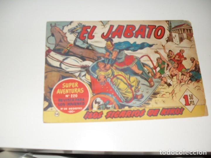 EL JABATO 54.ORIGINAL.EDITORIAL BRUGUERA,AÑO 1958. (Tebeos y Comics - Bruguera - Jabato)