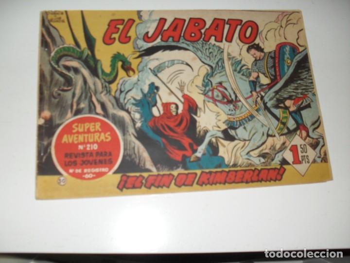 EL JABATO 50.ORIGINAL.EDITORIAL BRUGUERA,AÑO 1958. (Tebeos y Comics - Bruguera - Jabato)
