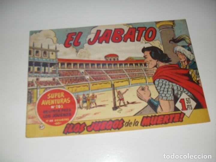 EL JABATO 47.PRIMEROS NUMEROS.ORIGINAL.EDITORIAL BRUGUERA,AÑO 1958. (Tebeos y Comics - Bruguera - Jabato)