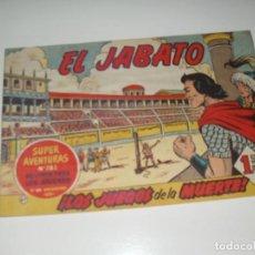 Tebeos: EL JABATO 47.PRIMEROS NUMEROS.ORIGINAL.EDITORIAL BRUGUERA,AÑO 1958.. Lote 288455093