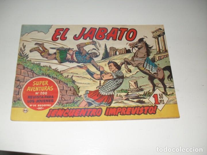 EL JABATO 46.PRIMEROS NUMEROS.ORIGINAL.EDITORIAL BRUGUERA,AÑO 1958. (Tebeos y Comics - Bruguera - Jabato)