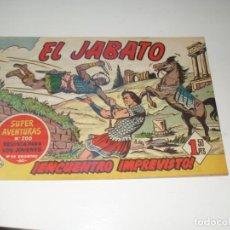 Tebeos: EL JABATO 46.PRIMEROS NUMEROS.ORIGINAL.EDITORIAL BRUGUERA,AÑO 1958.. Lote 288455168