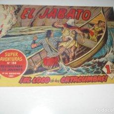 Tebeos: EL JABATO 45.PRIMEROS NUMEROS.ORIGINAL.EDITORIAL BRUGUERA,AÑO 1958.. Lote 288455243