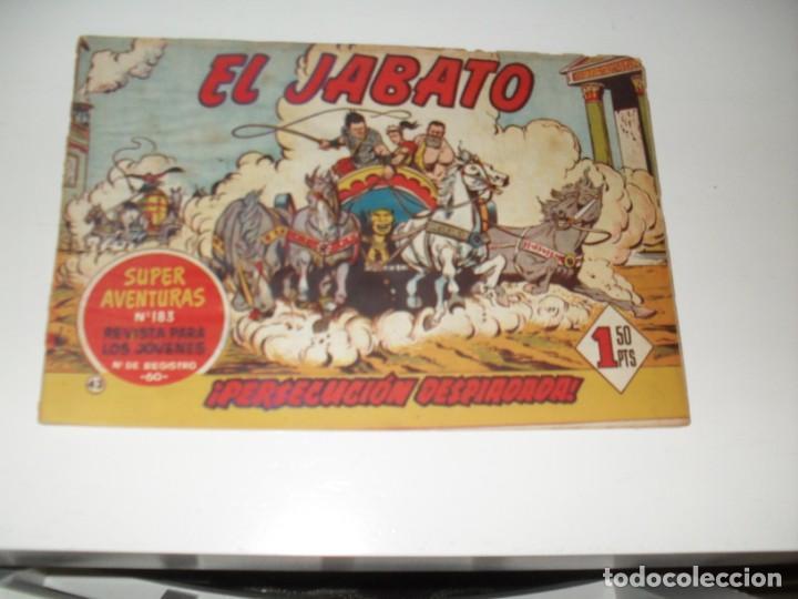 EL JABATO 43.PRIMEROS NUMEROS.ORIGINAL.EDITORIAL BRUGUERA,AÑO 1958. (Tebeos y Comics - Bruguera - Jabato)