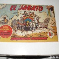 Tebeos: EL JABATO 43.PRIMEROS NUMEROS.ORIGINAL.EDITORIAL BRUGUERA,AÑO 1958.. Lote 288455608