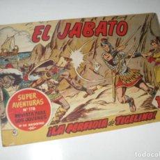Tebeos: EL JABATO 41.PRIMEROS NUMEROS.ORIGINAL.EDITORIAL BRUGUERA,AÑO 1958.. Lote 288455953
