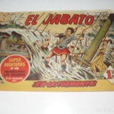Tebeos: EL JABATO 40.PRIMEROS NUMEROS.ORIGINAL.EDITORIAL BRUGUERA,AÑO 1958.. Lote 288456083