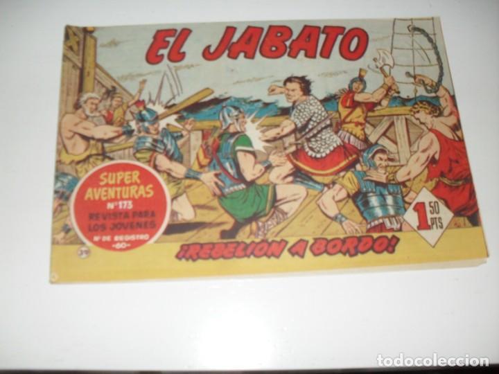 EL JABATO 39.PRIMEROS NUMEROS.ORIGINAL.EDITORIAL BRUGUERA,AÑO 1958. (Tebeos y Comics - Bruguera - Jabato)