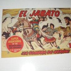 Tebeos: EL JABATO 38.PRIMEROS NUMEROS.ORIGINAL.EDITORIAL BRUGUERA,AÑO 1958.. Lote 288456258