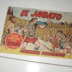 Tebeos: EL JABATO 34.PRIMEROS NUMEROS.ORIGINAL.EDITORIAL BRUGUERA,AÑO 1958.. Lote 288456943
