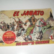 Tebeos: EL JABATO 29.PRIMEROS NUMEROS.ORIGINAL.EDITORIAL BRUGUERA,AÑO 1958.. Lote 288457133