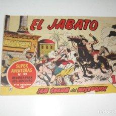 Tebeos: EL JABATO 21.PRIMEROS NUMEROS.ORIGINAL.EDITORIAL BRUGUERA,AÑO 1958.. Lote 288457413