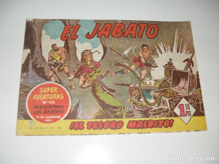 EL JABATO 11.PRIMEROS NUMEROS.ORIGINAL.EDITORIAL BRUGUERA,AÑO 1958. (Tebeos y Comics - Bruguera - Jabato)