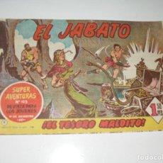 Tebeos: EL JABATO 11.PRIMEROS NUMEROS.ORIGINAL.EDITORIAL BRUGUERA,AÑO 1958.. Lote 288457523